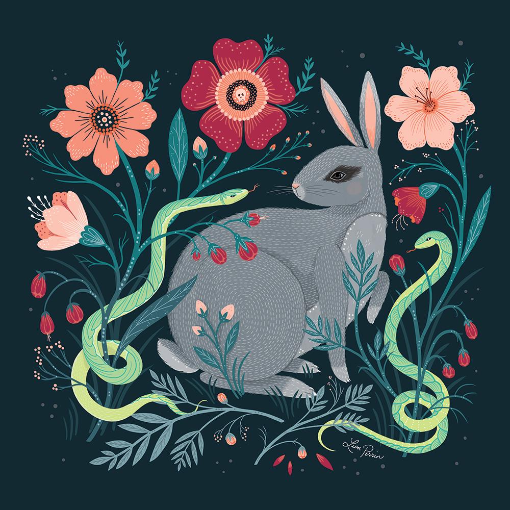 """Rabbit is Found"" – Lisa Perrin"