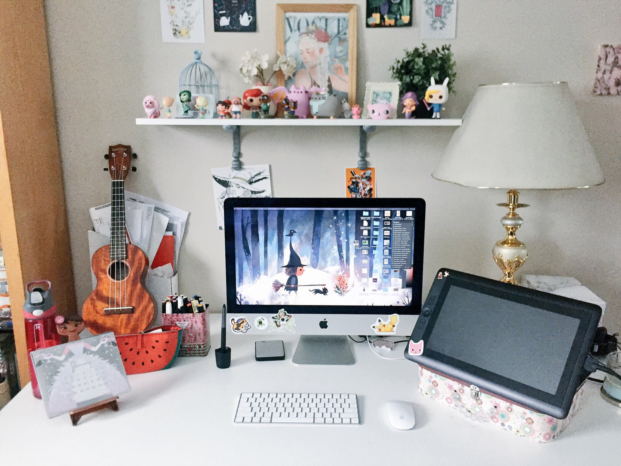 Anoosha's workspace