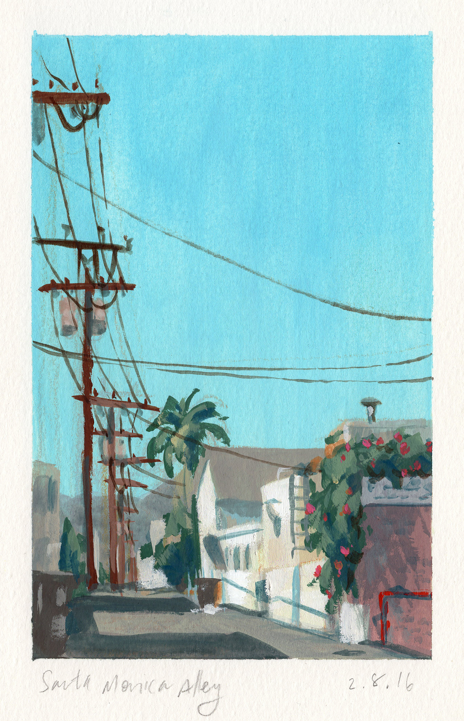 Santa Monica Alley_4x6.5.jpg