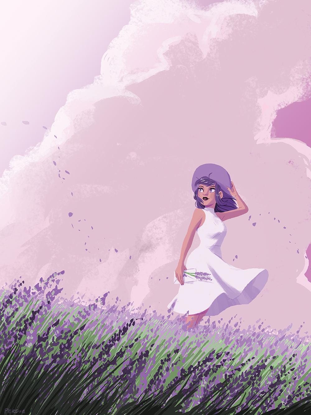 """""""Lavender"""" by Kellye Perdue"""