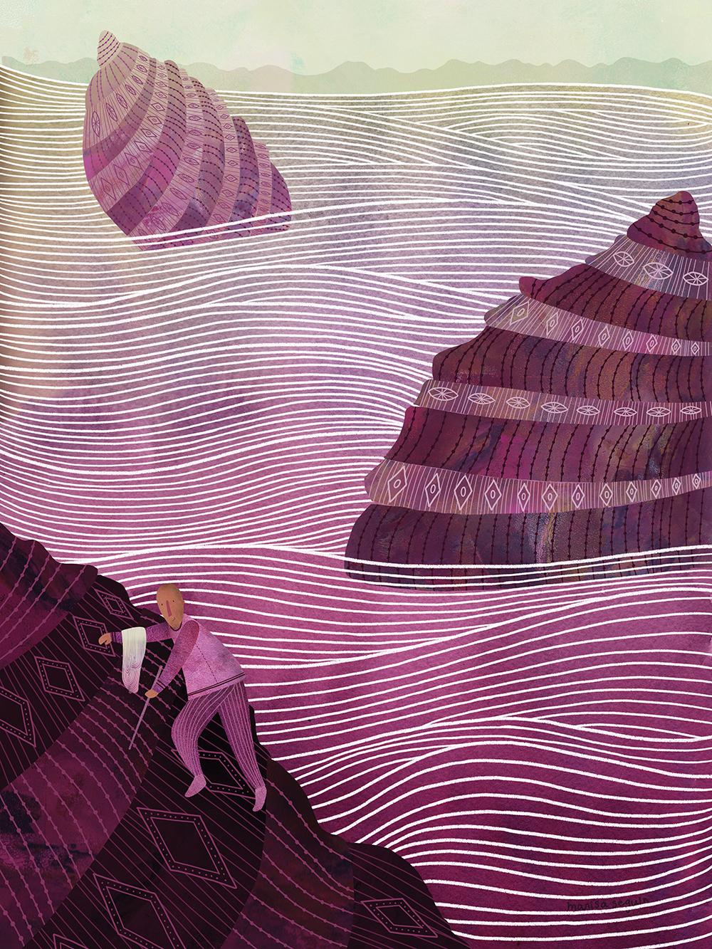 """""""Oaxacan Purple"""" by Marisa Seguin"""