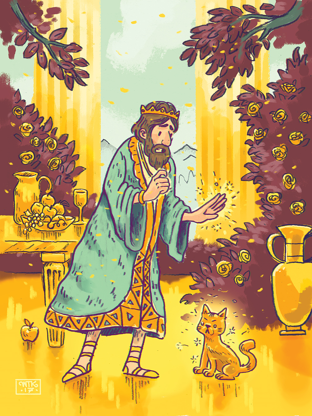 """King Midas & the Golden Curse"" by Will Kelly"
