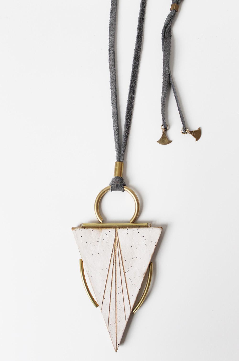 """Arrow Necklace"" – Janelle Gramling"