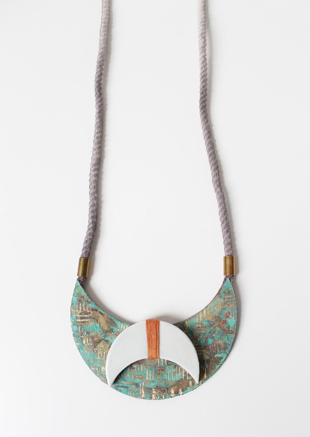 """""""Dusk Necklace"""" – Janelle Gramling"""