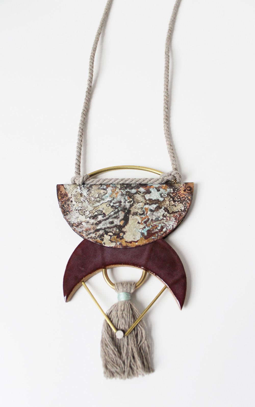 """""""Half Moon Necklace"""" – Janelle Gramling"""