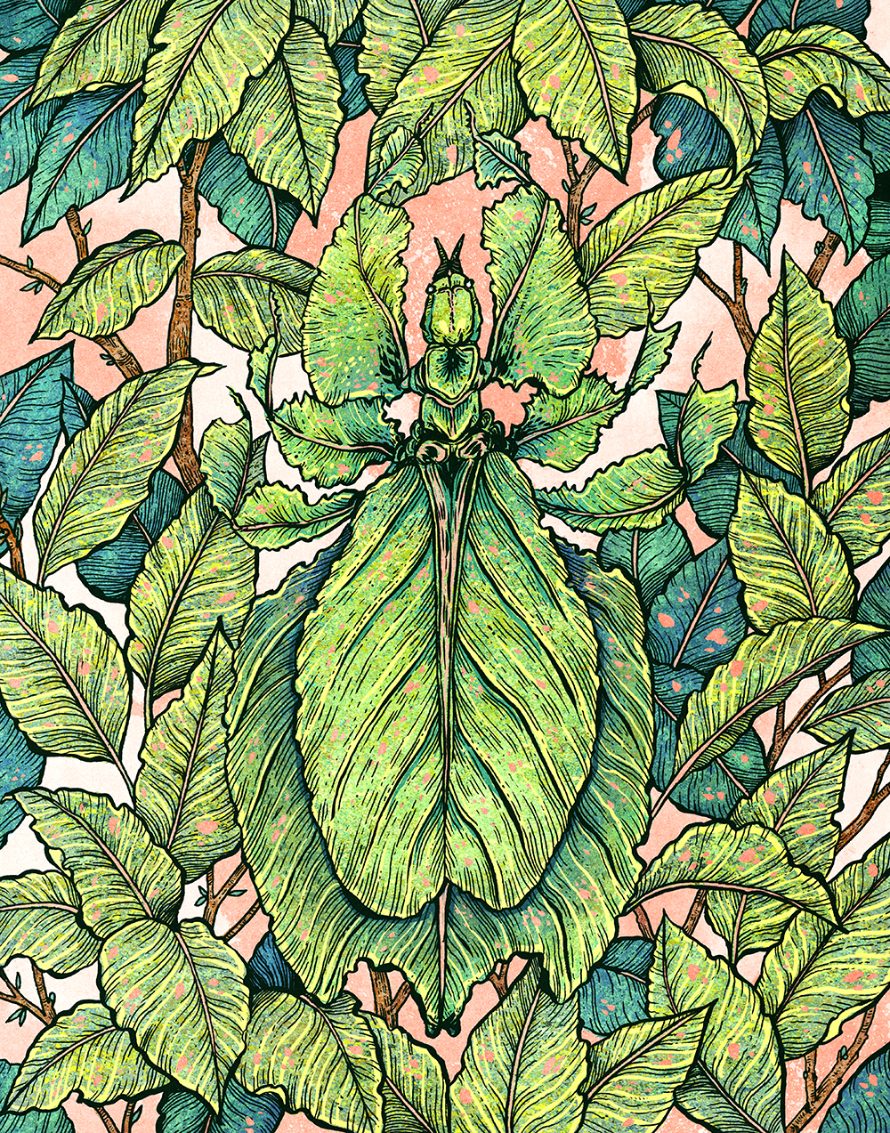 """Leaf Mimic"" by Angela Rizza"