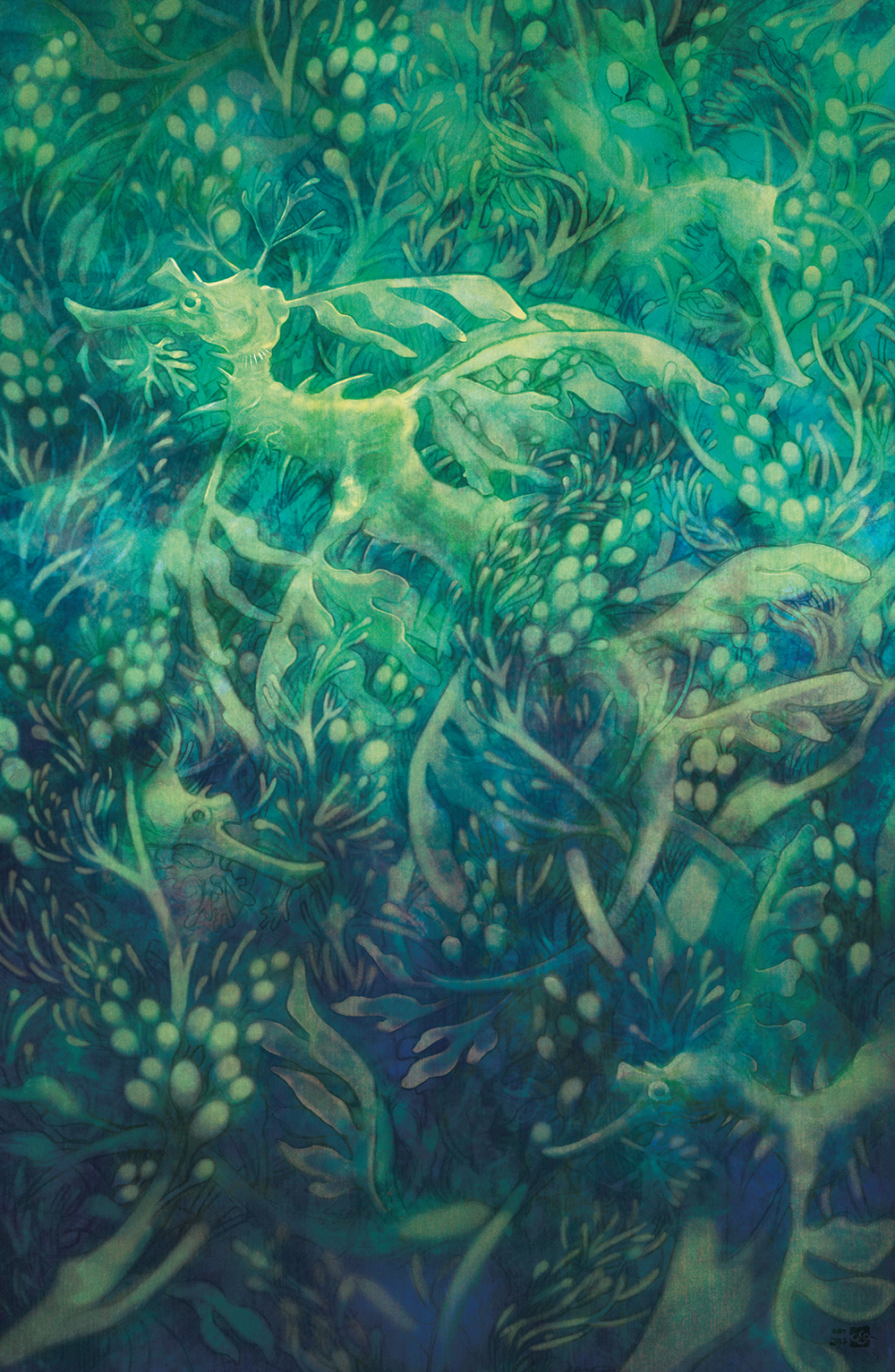 """Leafy Sea Dragon"" by Caitlin Ono"