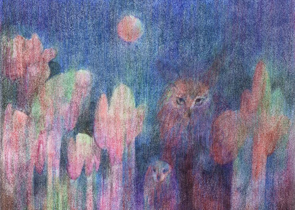 """""""Curving Night"""" by Lis Xu"""