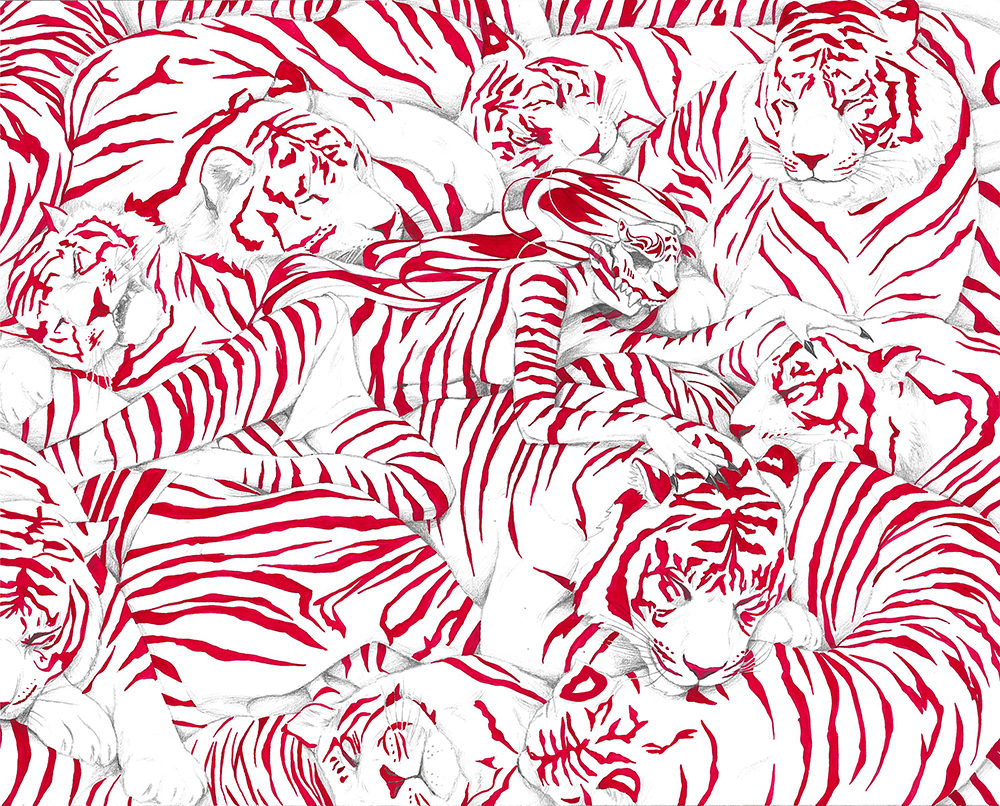 """Red Blooded"" by Sheena Klimoski"