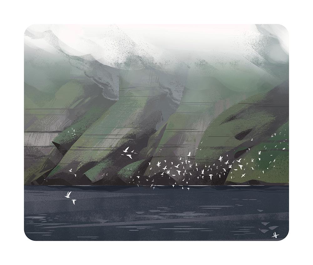 """Sea Birds"" by Alexandria Neonakis"