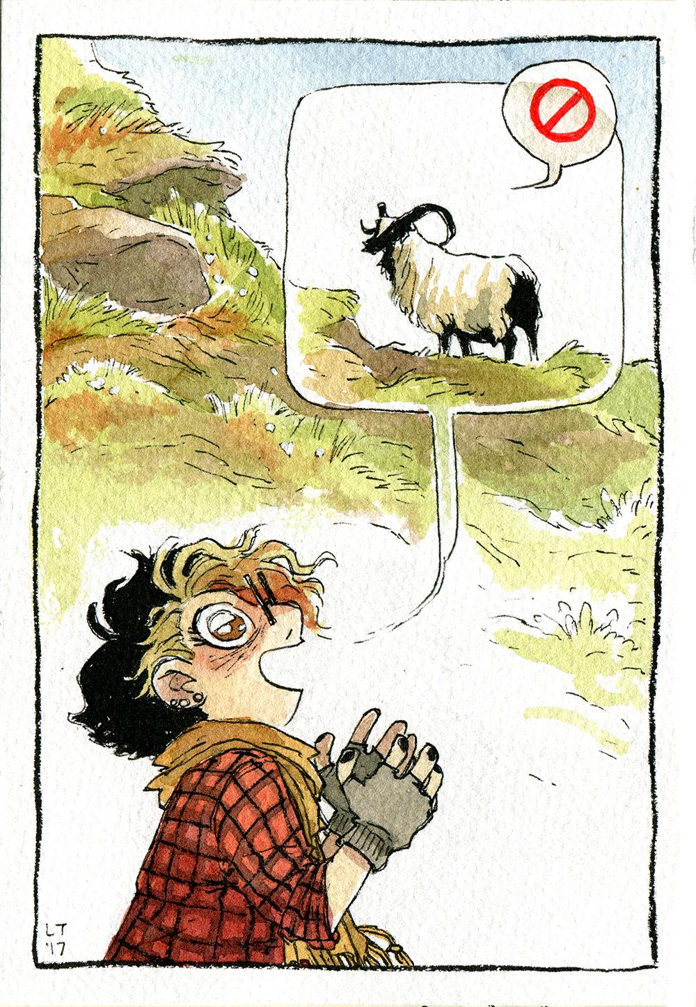 """""""02: Sheep"""" by Lissa Treiman"""