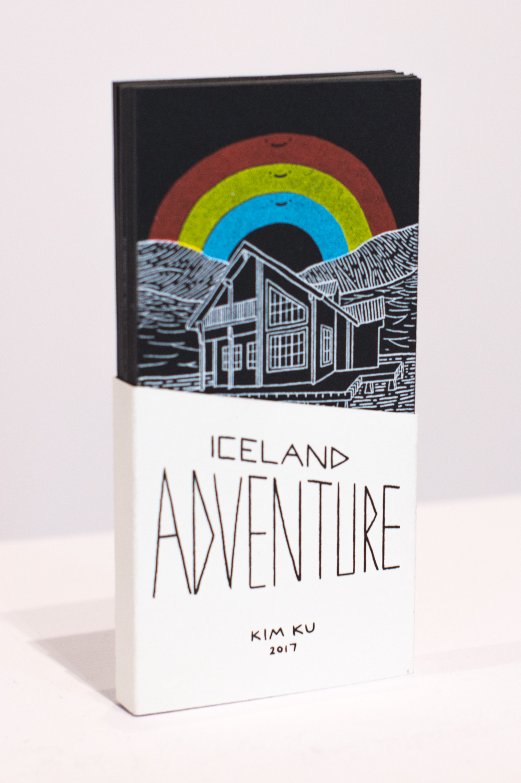 """Iceland Adventure"" Artist Book by Kim Ku"