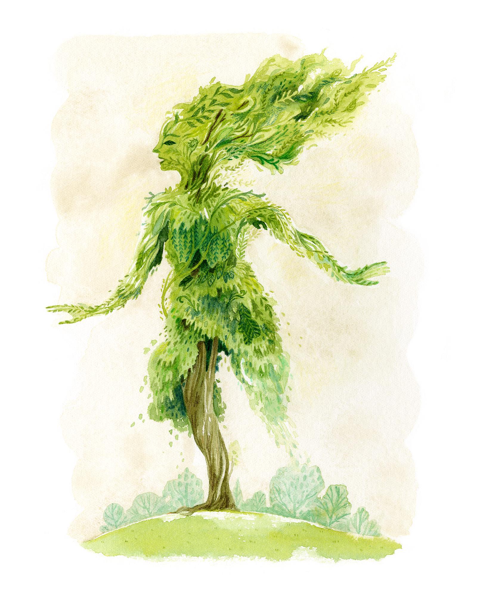 """Green Woman"""