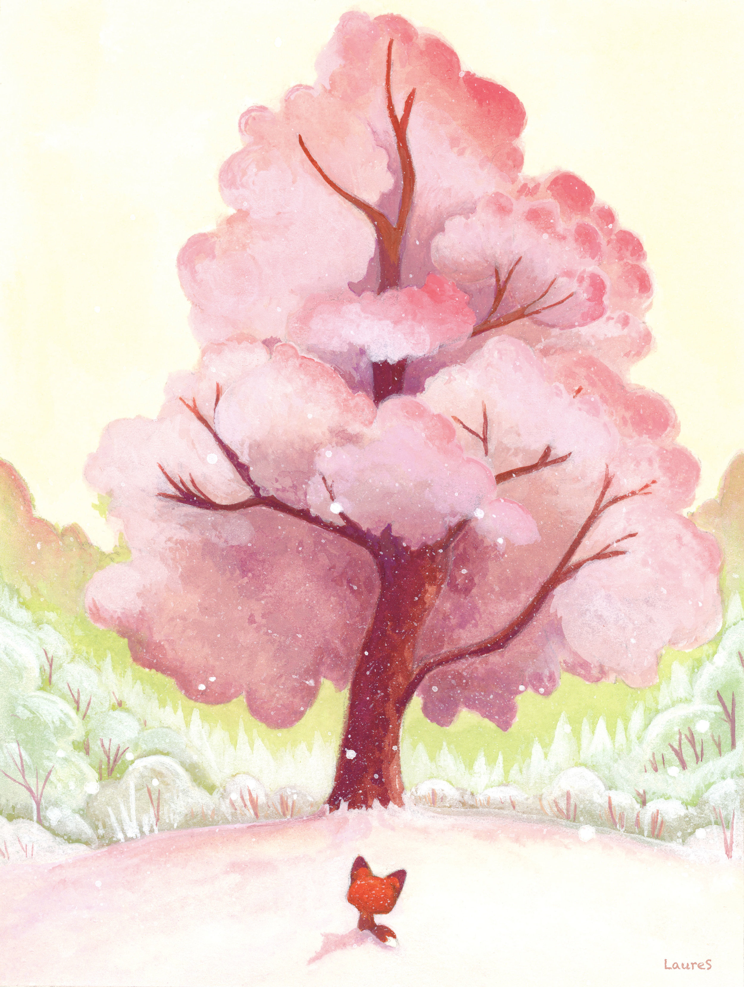 """The pink tree"""