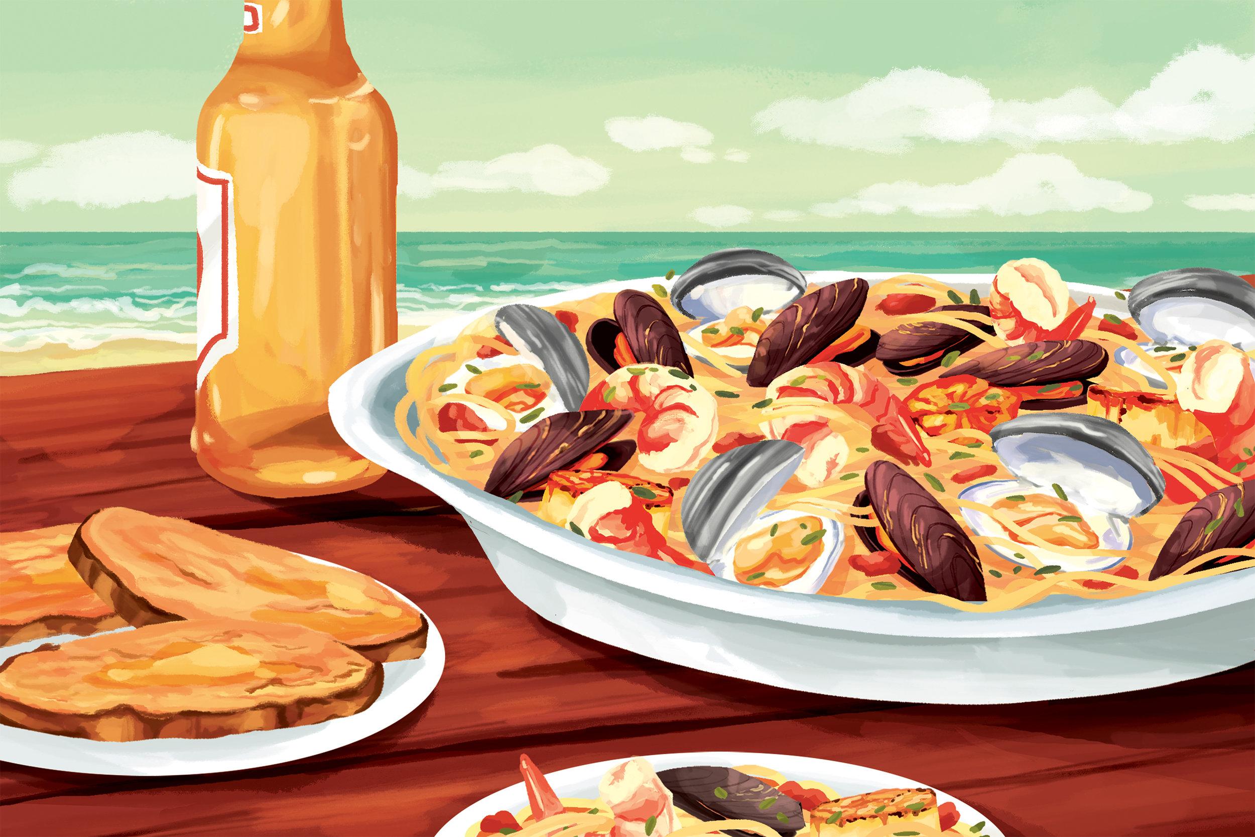 """""""Seafood Linguine"""""""