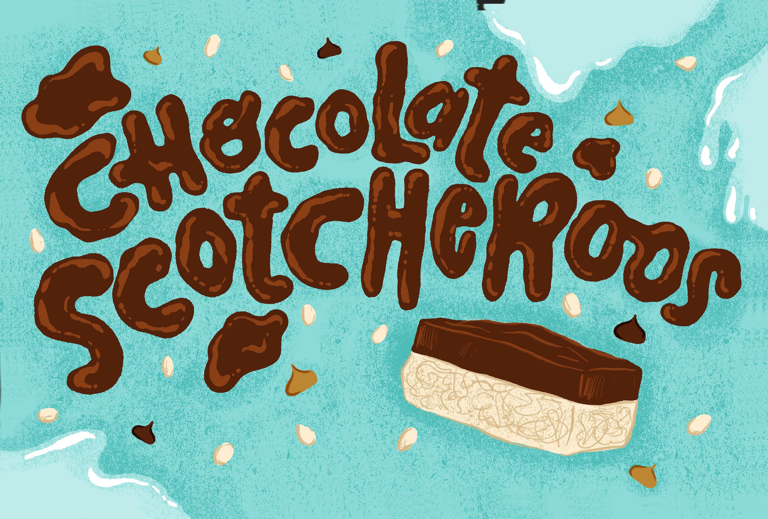 """Chocolate Scotcheroos"""