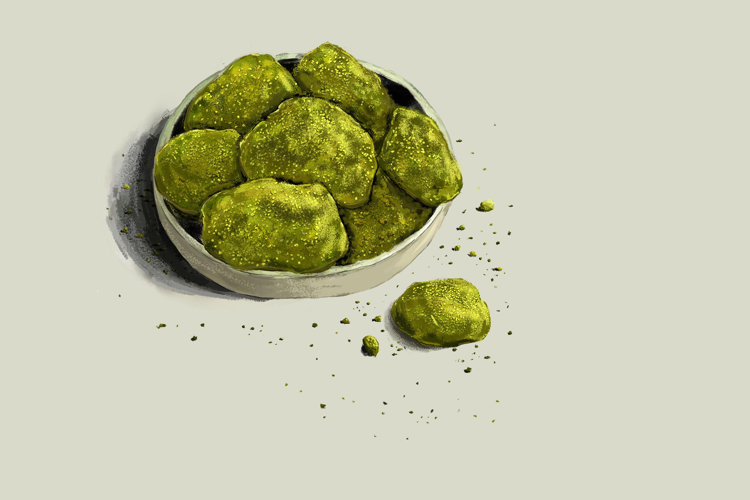 """""""Moss Cookies"""""""
