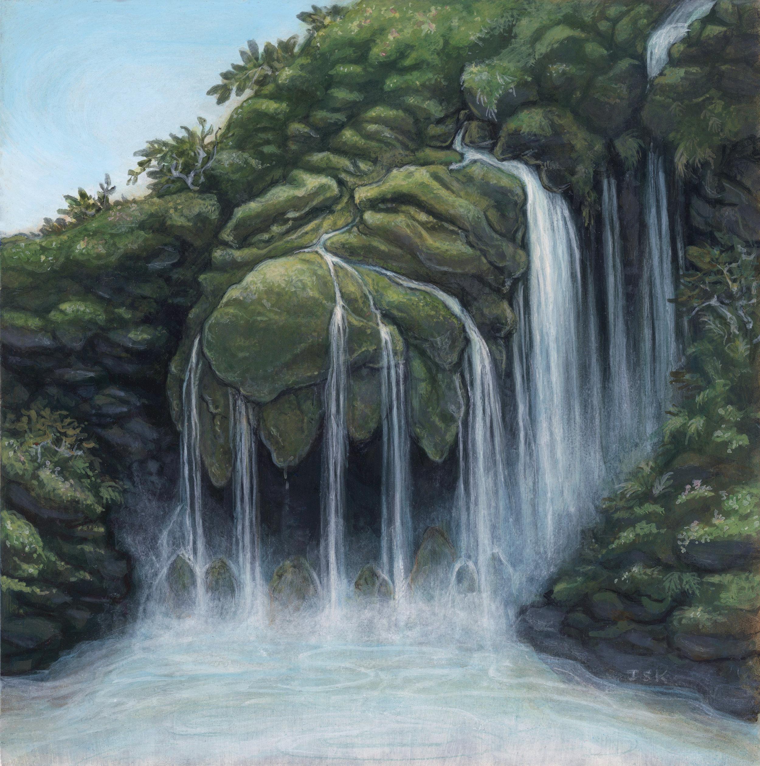 """The Hidden Waterfall Known As """"Dentalfoss"""""""