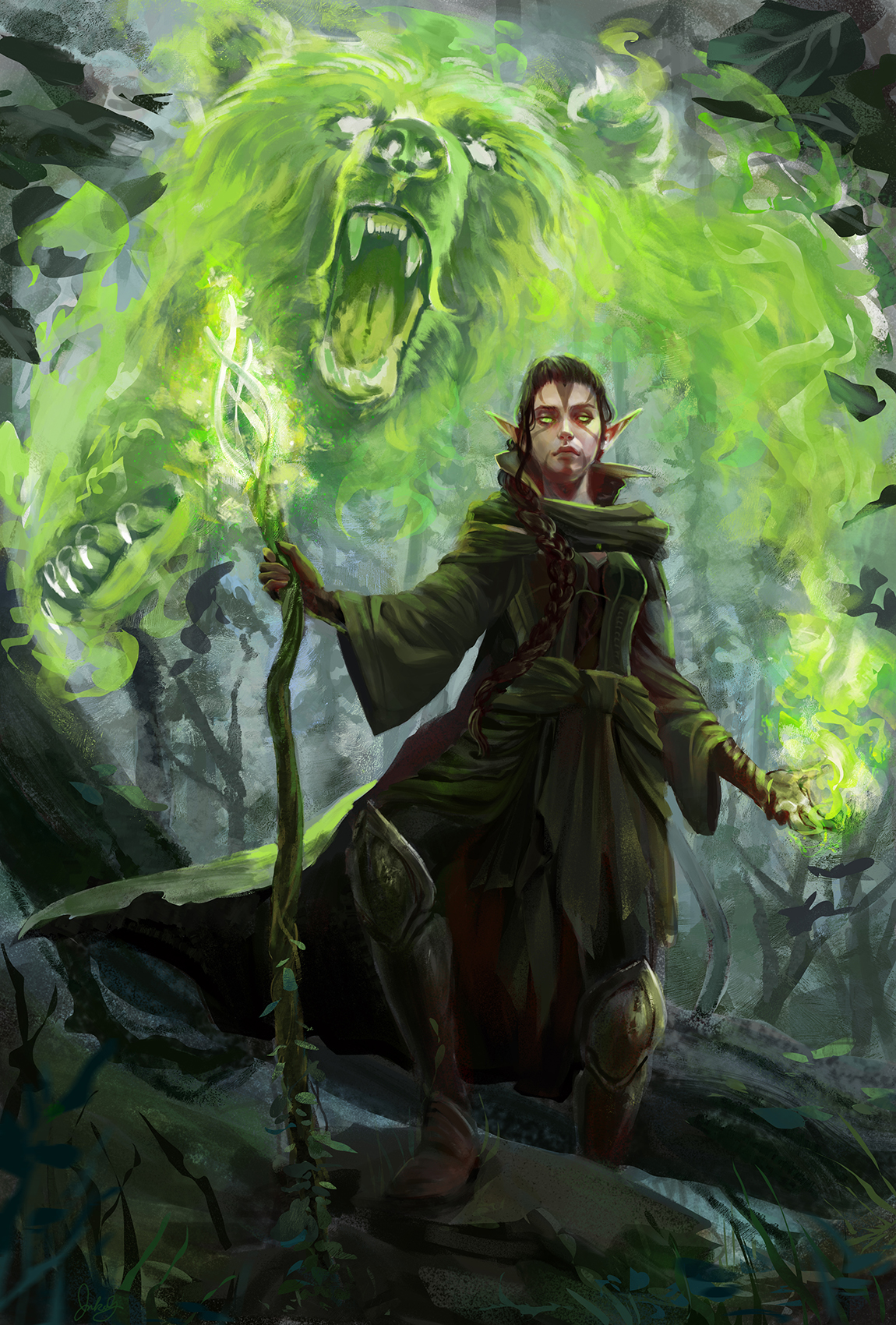 """""""Nissa, Protector of the Grove"""""""