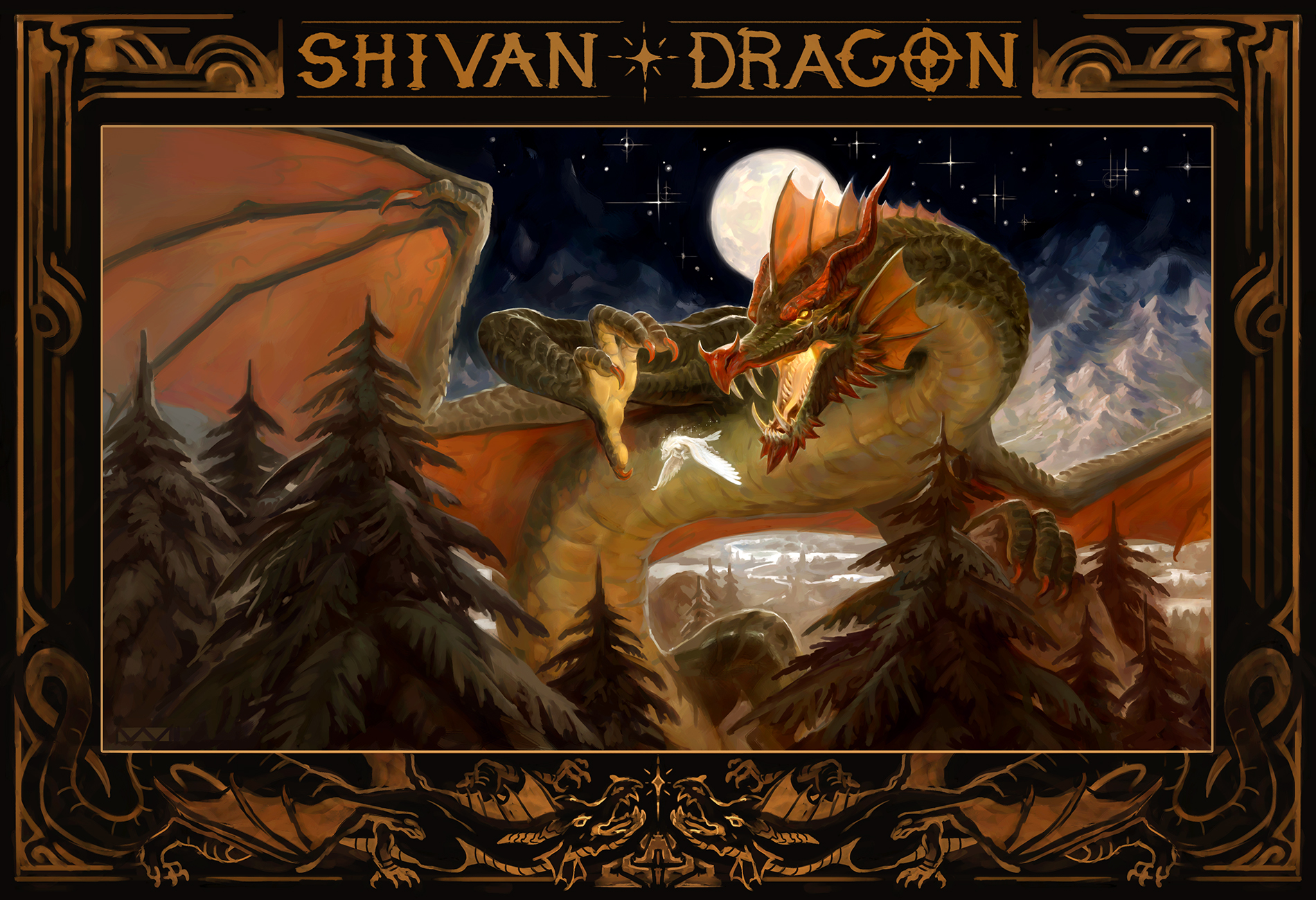 """Shivan Dragon"""