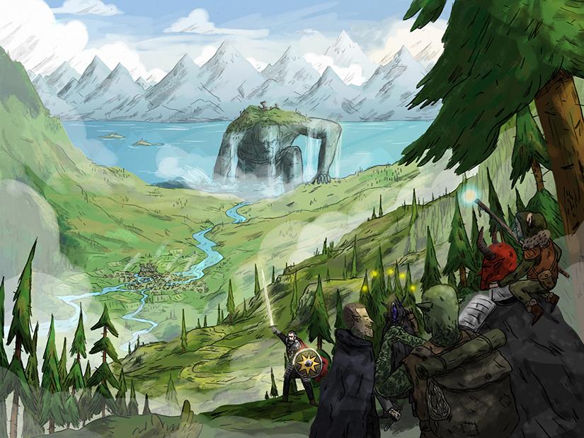 """""""The Ashlian Mountains"""""""