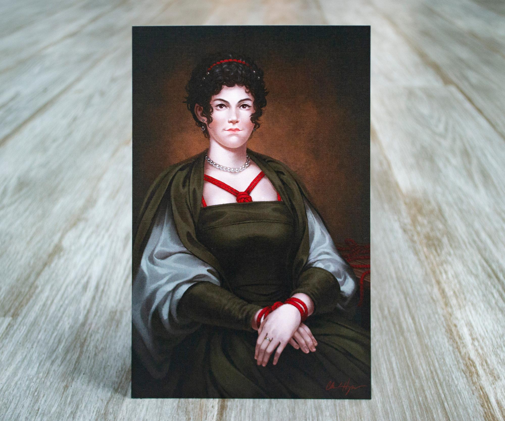 Portrait of Lady Bowline