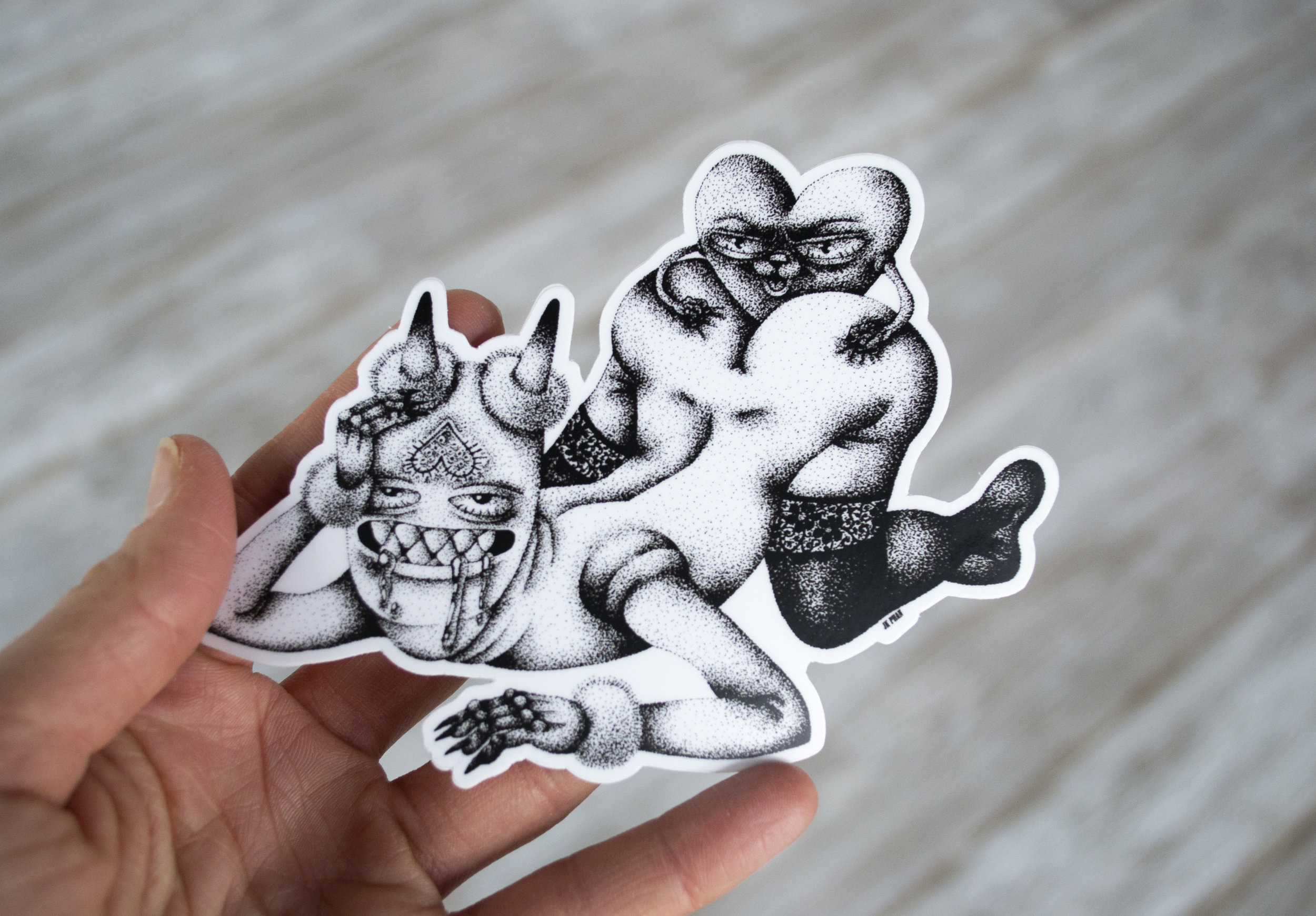 Buttsex Sticker