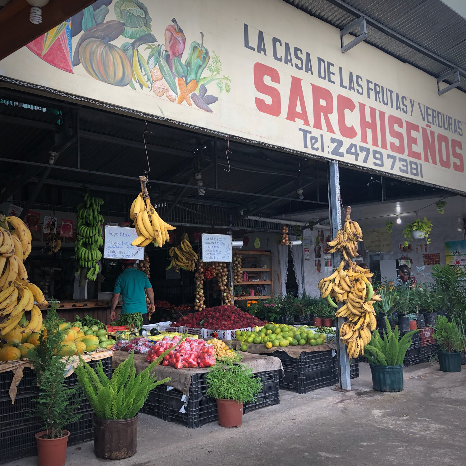 Experience the flavors of locally grown produce, coffee, and chocolate from the local markets