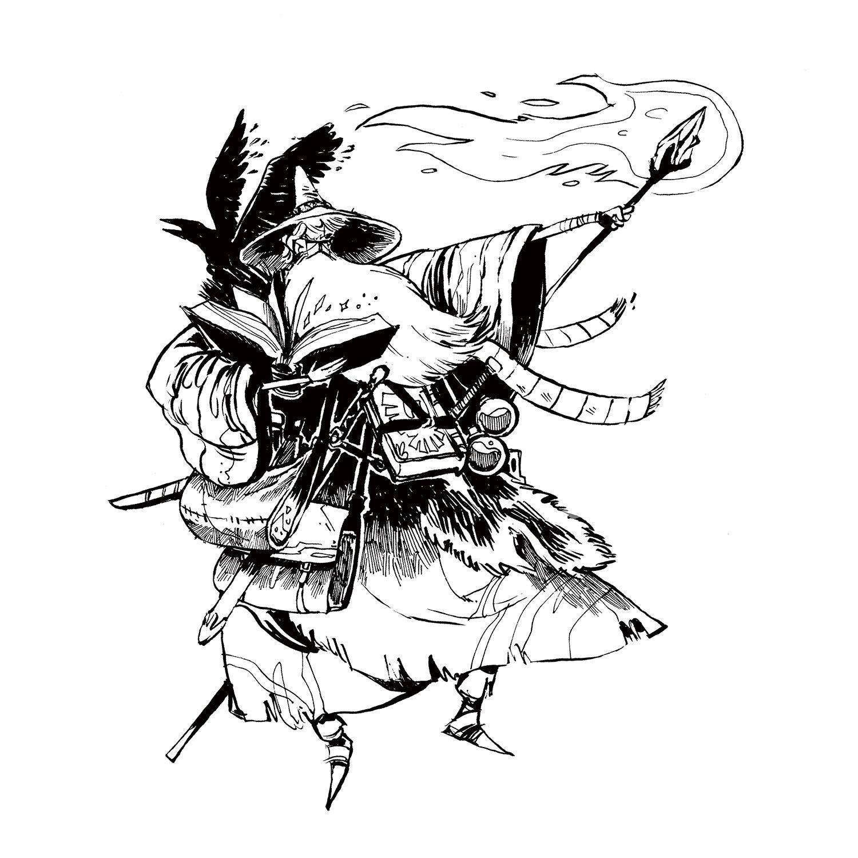 """Class Ink: Wizard"""