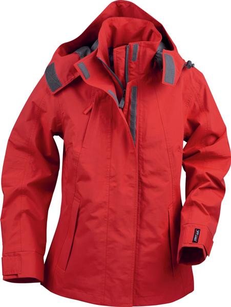 Red Ski Jacket Girls Cut