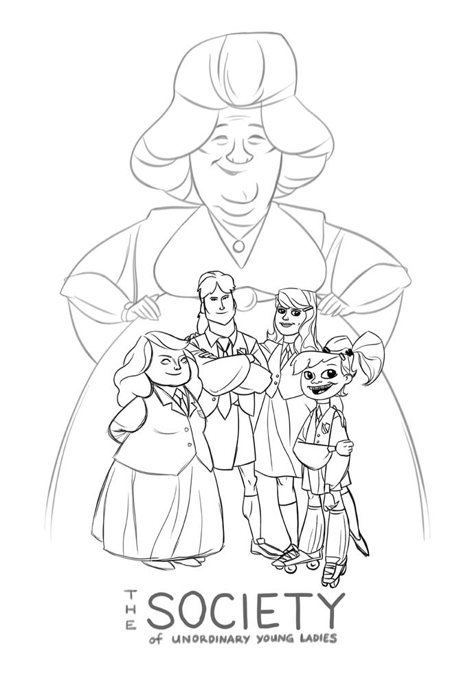 bonus sketch pinup!
