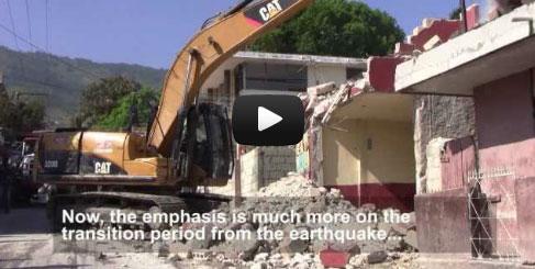 UNOPS in Haiti