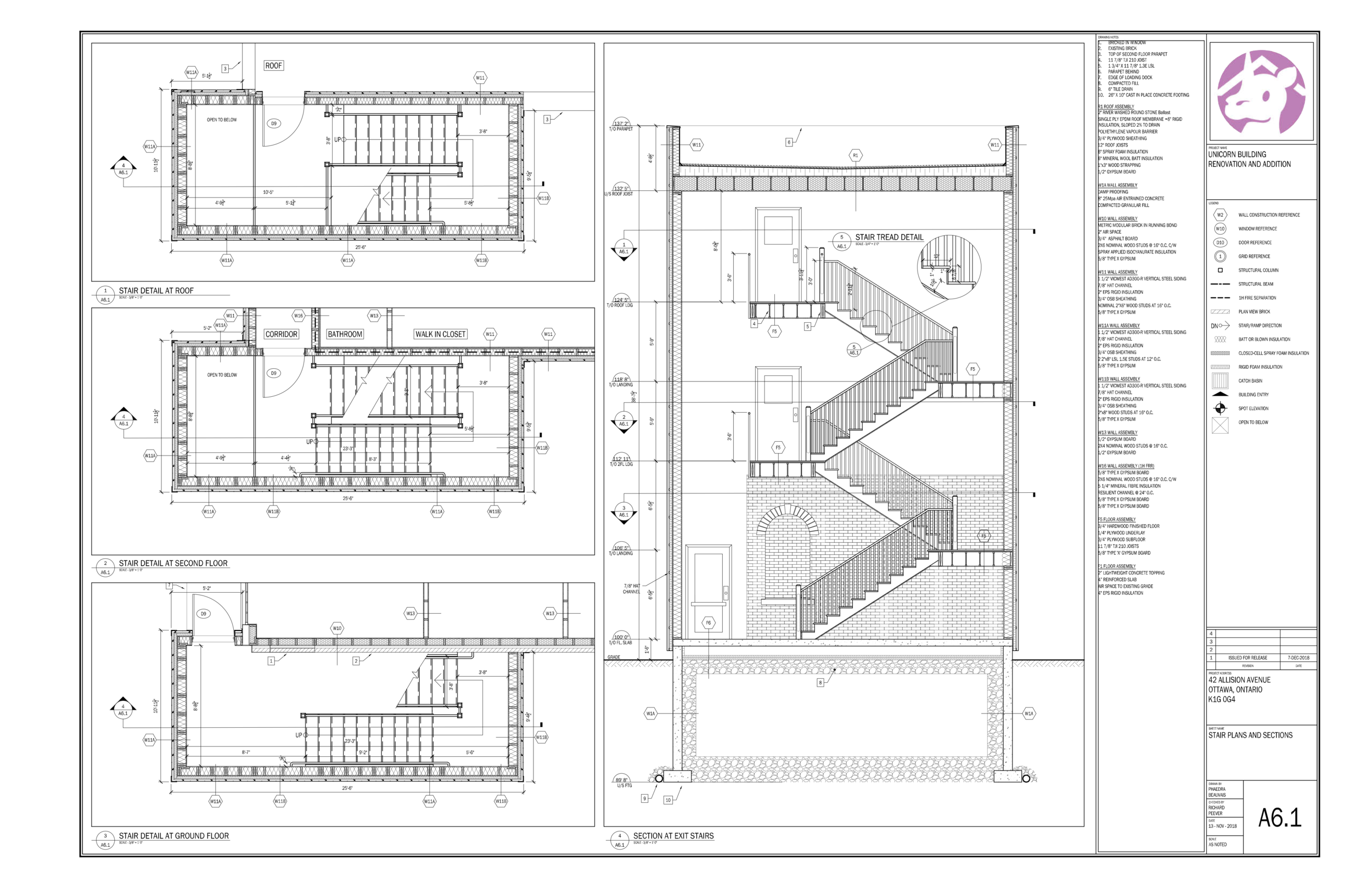 Working Drawings II - Beauvais Residence — Phaedra Beauvais - Design