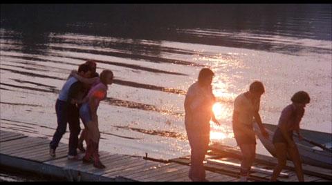 Crystal Lake. I can't believe I'm back on Crystal Lake.