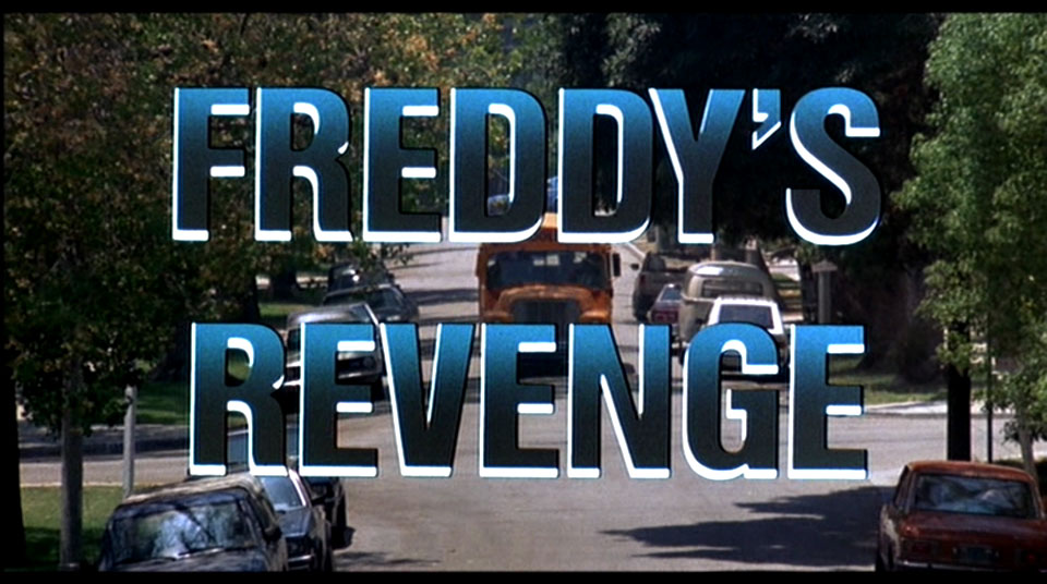 Revenge? Revenge for what? He won!! He was the victor in the first movie!
