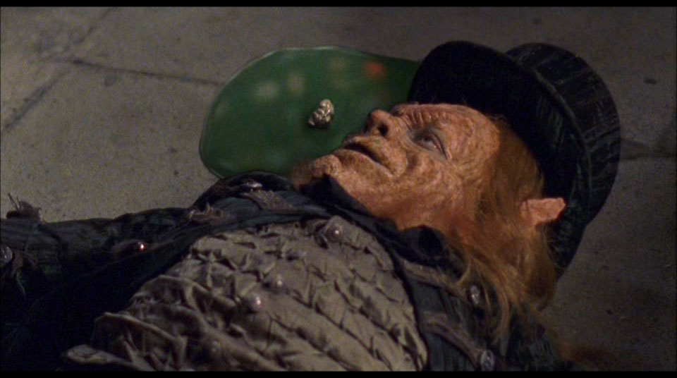 With the Leprechaun's life cut tragically short, Hi-C was no longer able to harvest his blood for their Ecto-Cooler. And now you know why it's not made anymore.