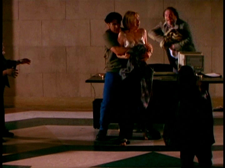 Please, PLEASE let Illyria show up and kill these guys before fighting Angel and Spike.
