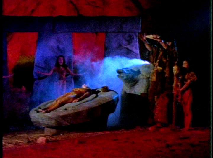 The holy druid smoke machine!