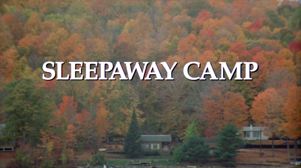 In the forest, the camper's forest, the slasher sleeps tonight, oh a sleepaway, a sleepaway...