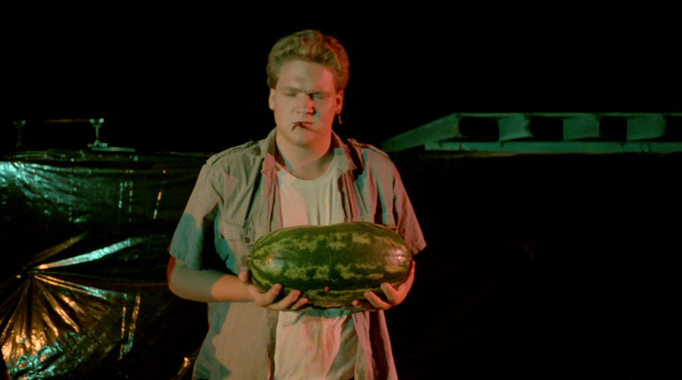 Why is there a watermelon there?