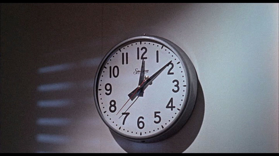 CAP: Don't show a clock if you don't want the audience to get impatient.