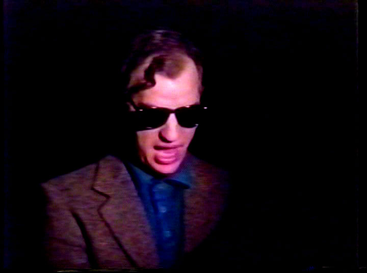 I wear my sunglasses at night.