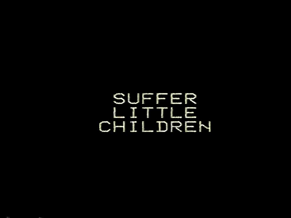 Suffer, Little Jason…