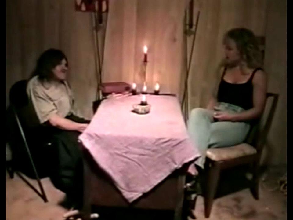 My seance with Runnion.