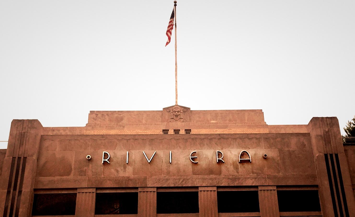 Riviera Movie Theater, August 2015
