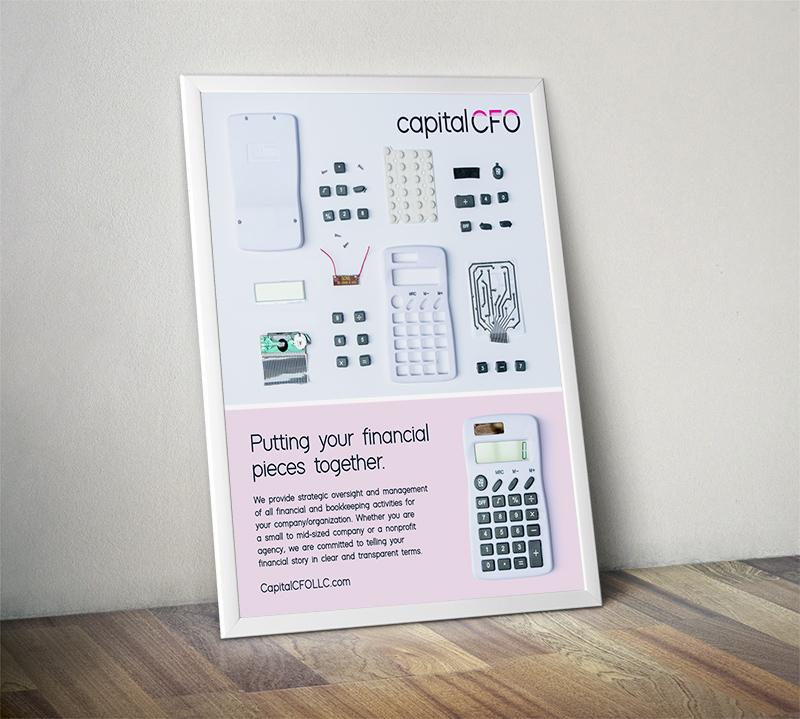 Print Ad - Print ad for Capital CFO
