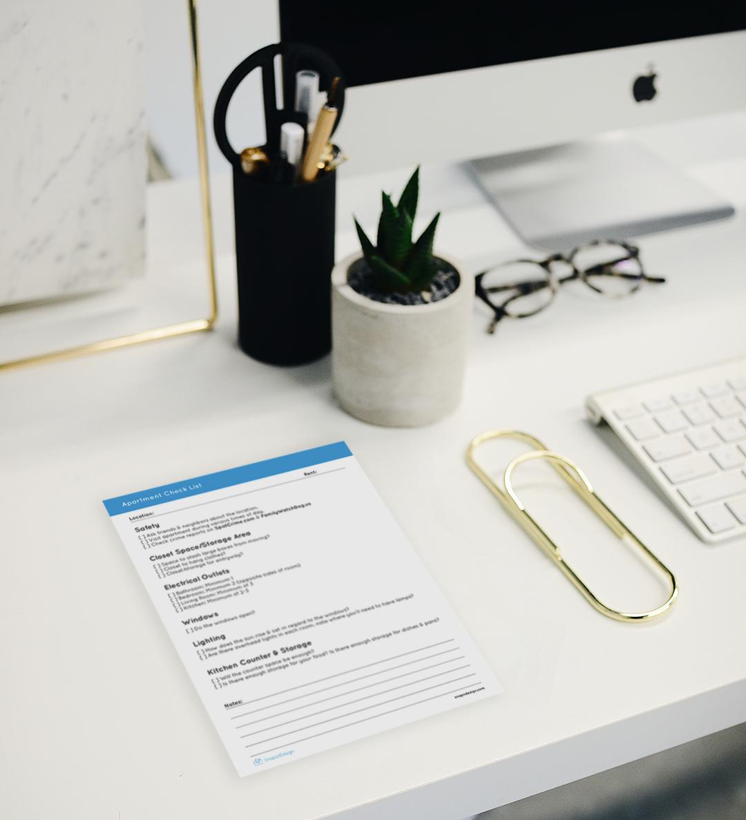 Download Apartment Checklist
