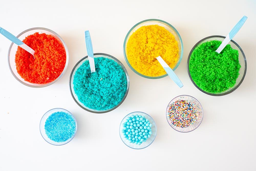 Kids Birthday Party: DIY Cake Bar Ingredients