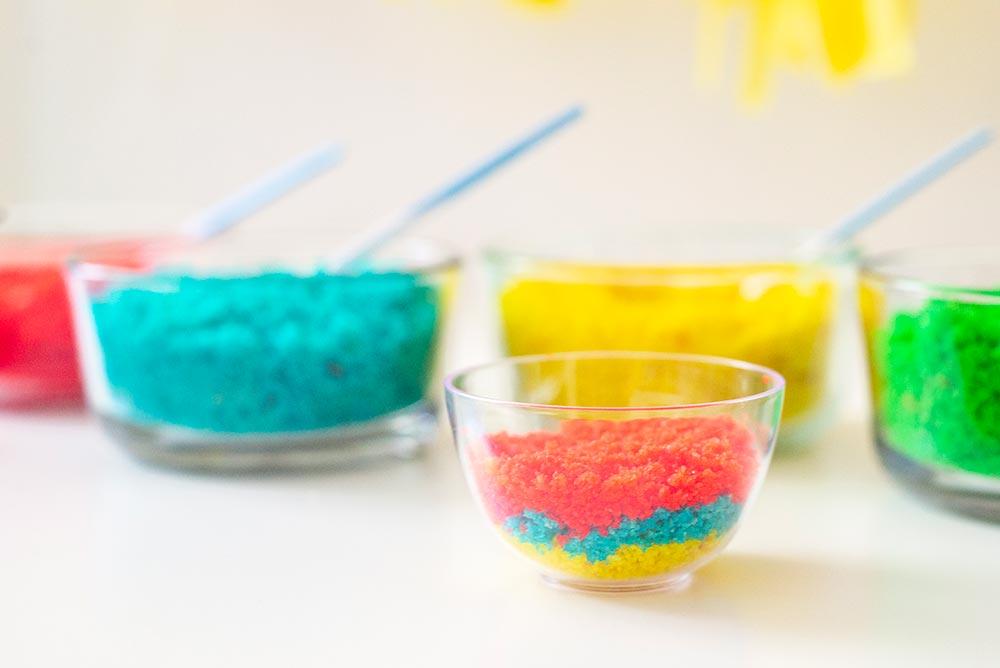 Kids Birthday Party: DIY Cake Bar - Layer 3