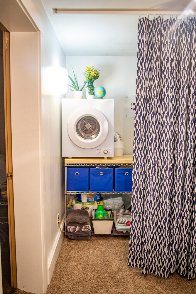 Apartment Laundry Solutions: Plug-in Dryer